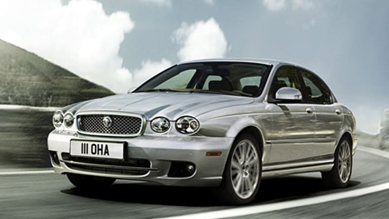 2009 jaguar x type