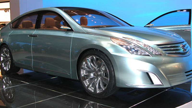Tokyo Motor Show Getting Intimate With The Nissan Intima Autoblog