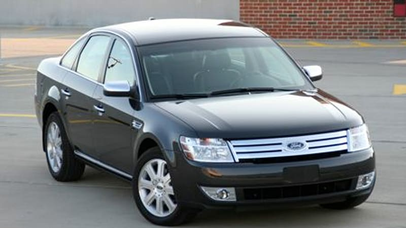 in the autoblog garage 2008 ford taurus limited awd. Black Bedroom Furniture Sets. Home Design Ideas