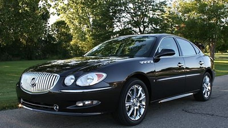 Buick Lacrosse V8 Super For Sale >> In the Autoblog Garage: 2008 Buick LaCrosse Super - Autoblog