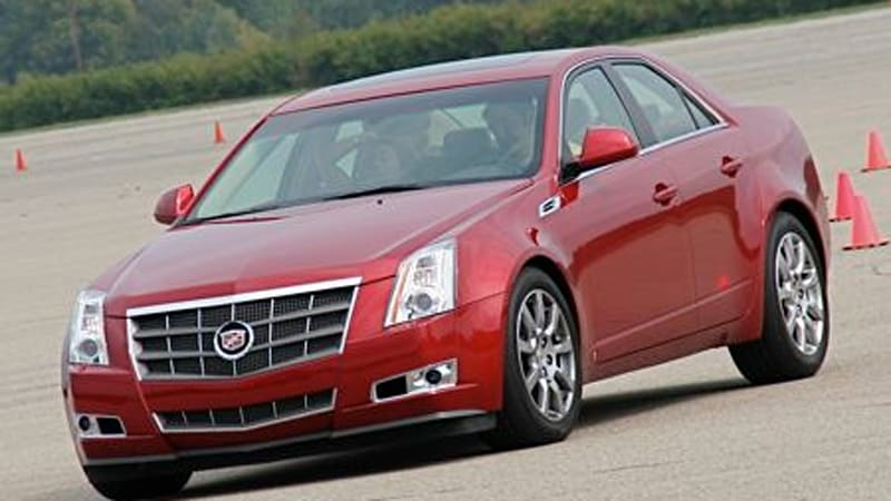 2008 Cadillac CTS leads charge of redesigned '08 models - Autoblog