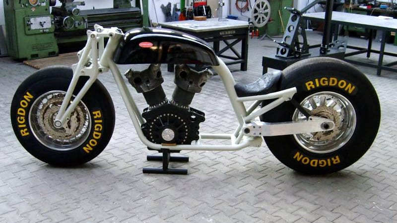 Size Matters: GUNBUS motorcycle featuring 350 HP radial airplane engine - Autoblog