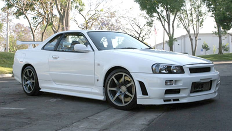 Not Quite eBay Find of the Day: Paul Walker's 2001 R34 ...