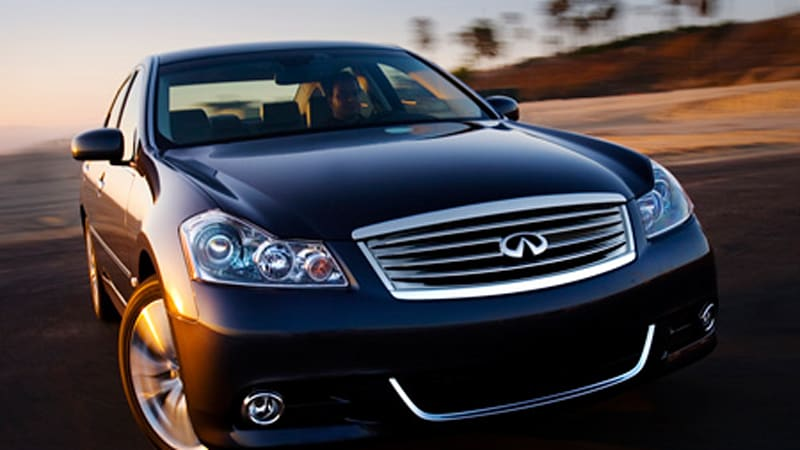 Infiniti Prices 2008 M And New Awd M45x Autoblog