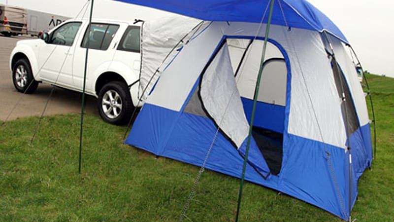 ... Pontiac Aztek was a sales failure it did have the ability to quickly turn into a c&ing appliance with a rear end that could be converted into a tent. & Aztek flashback: Nissan UK offering custom fit tent for SUVs ...