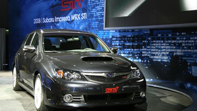 La 2007 2008 subaru wrx sti priced at 34995 video autoblog publicscrutiny Gallery