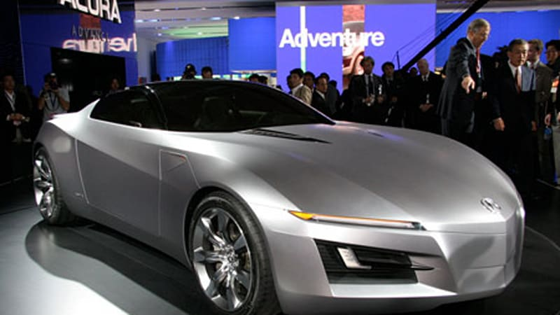 Acura Advanced Sports Car Concept Click To View In Our High Res Gallery