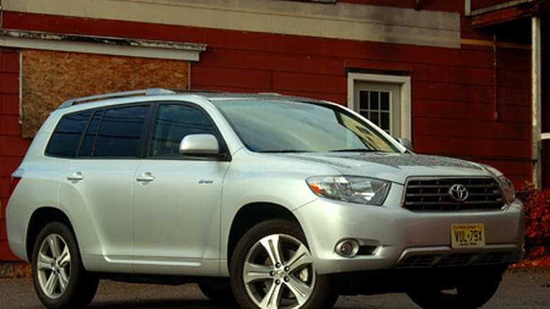 Consumer Reports Rates Toyota Highlander No 1 Won T Recommend It