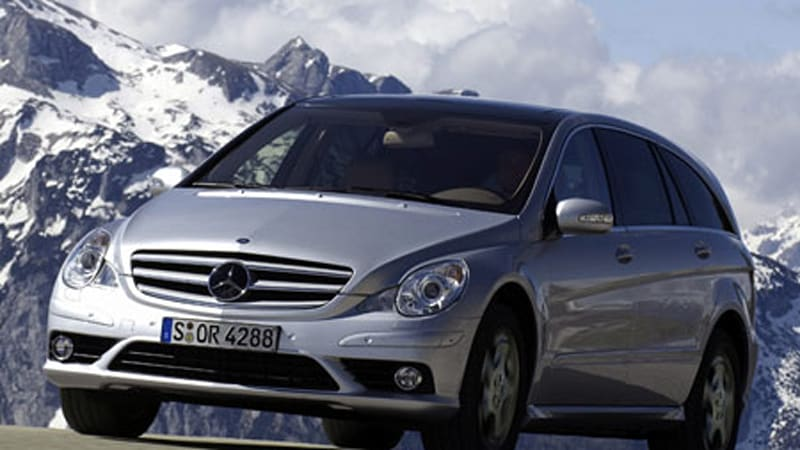 Mercedes admits r class was a failure autoblog for 2008 mercedes benz r350 recalls