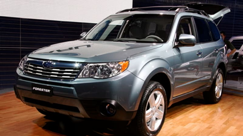 Detroit 2008: '09 Subaru Forester shows its US face in Detroit