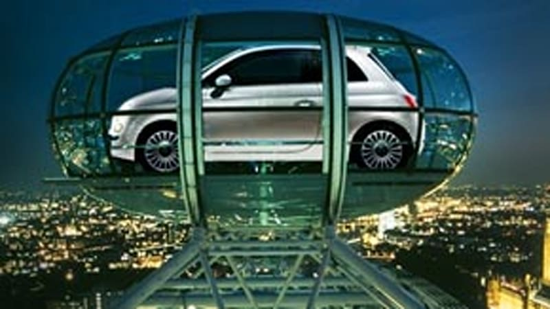 Time Capsule Fiat 500 Set For Uk Launch On The London Eye Autoblog