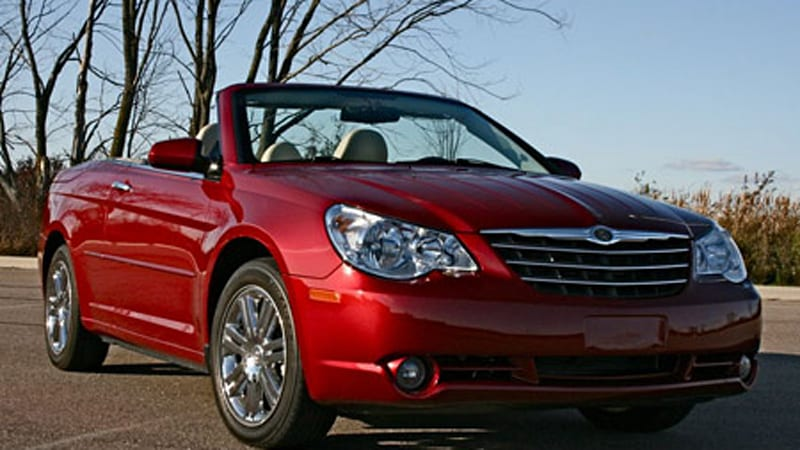 review chrysler sebring limited convertible