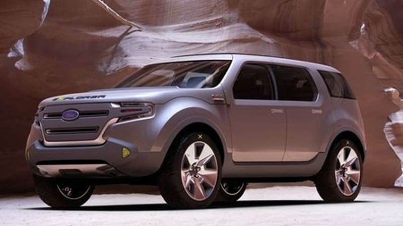 Detroit 2008 Ford Explorer America Concept Says Bye Bye To Body On