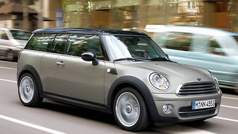 Detroit 2008 Mini To Offer Diesel Option In The Us Autoblog