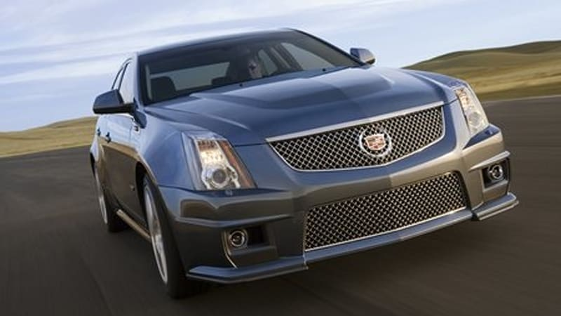 Detroit 2008 2009 Cadillac Cts V Revealed With 550 Hp Autoblog