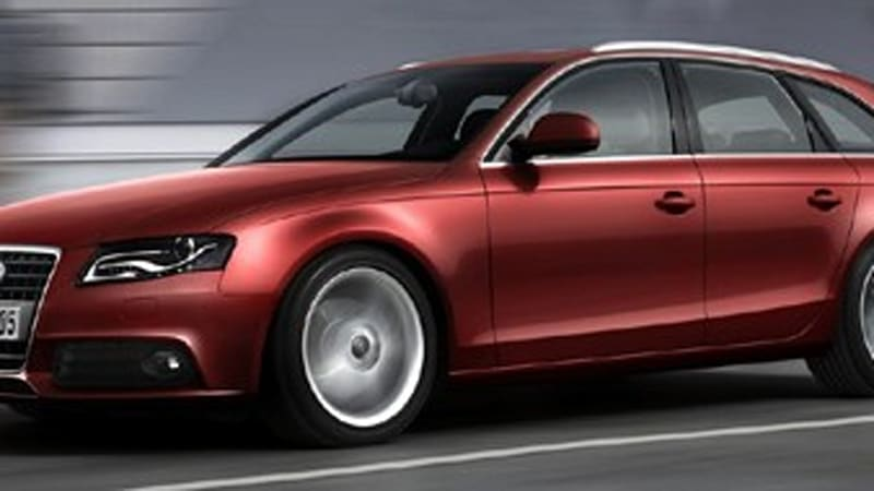 2009 Audi A4 Avant Revealed Ahead Of Geneva Autoblog