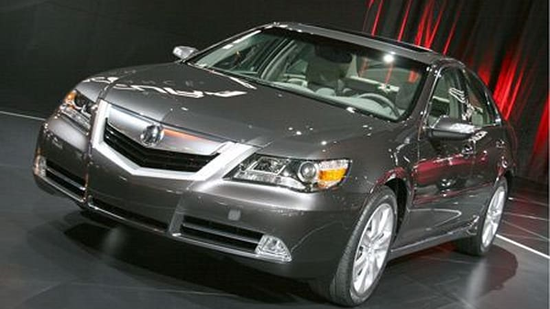 chicago 2008 acura reveals 2009 rl with more style more power rh autoblog com Acura Service Manual 2010 Acura RL Owner's Manual