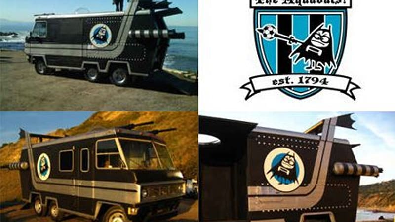 Craigslist find of the day: The Aquabats RV | Autoblog