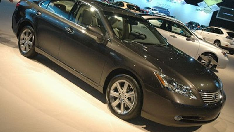 chicago 2008 lexus es 350 pebble beach edition autoblog. Black Bedroom Furniture Sets. Home Design Ideas