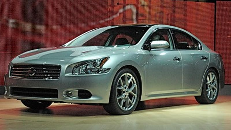 New York 2008: Nissan unveils 2009 Maxima with