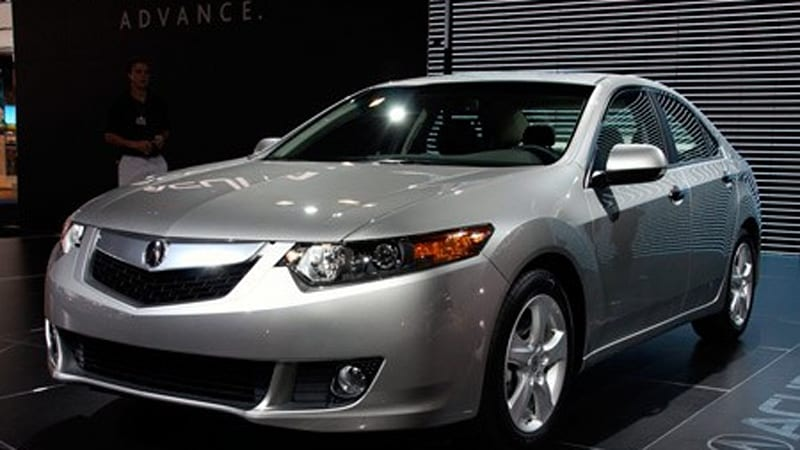 new york 2008 2009 acura tsx revealed again but live autoblog rh autoblog com 2006 Acura TSX Grille Acura TSX Aftermarket Grill