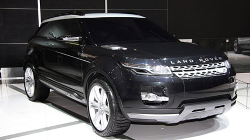Geneva 2008: Land Rover LRX is back... in black - Autoblog