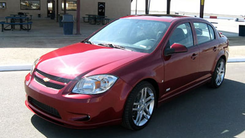2008 chevy cobalt ss sedan first look and pricing autoblog. Black Bedroom Furniture Sets. Home Design Ideas