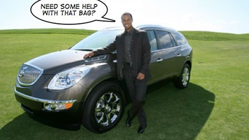 who u0026 39 s your caddy  buick offering tiger woods for a day