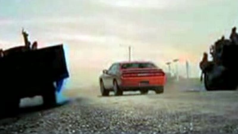 Video Dodge Challenger Fan Commercial Rates Highly Autoblog