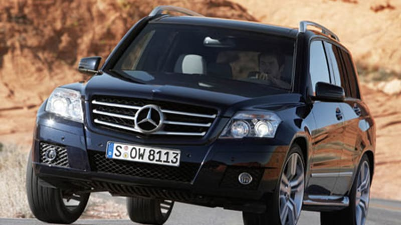Beijing 39 08 preview 2010 mercedes benz glk 350 to debut for 2010 mercedes benz glk 350 recalls