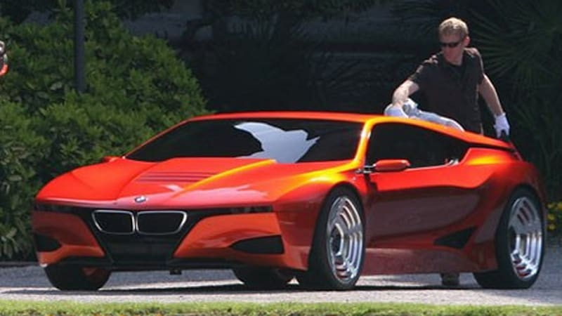 Sneak Peek! BMW M1 Concept at Villa d\'Este - Autoblog