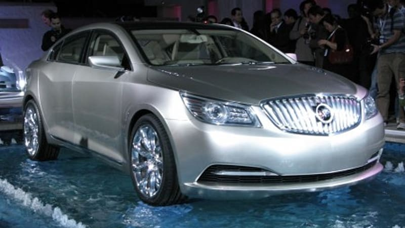 Beijing 2008 Live Reveal Of The Buick Invicta Concept Autoblog