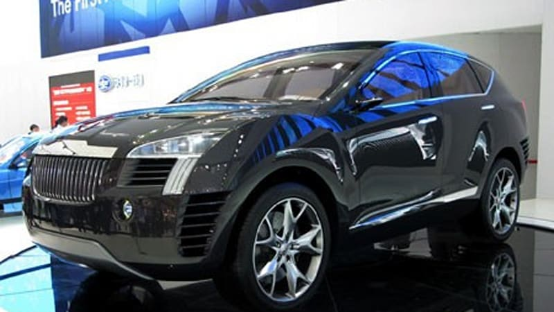 Beijing 2008 Hongqi Suv Concept Doesn T Look Like A Photochopped Mkt Autoblog
