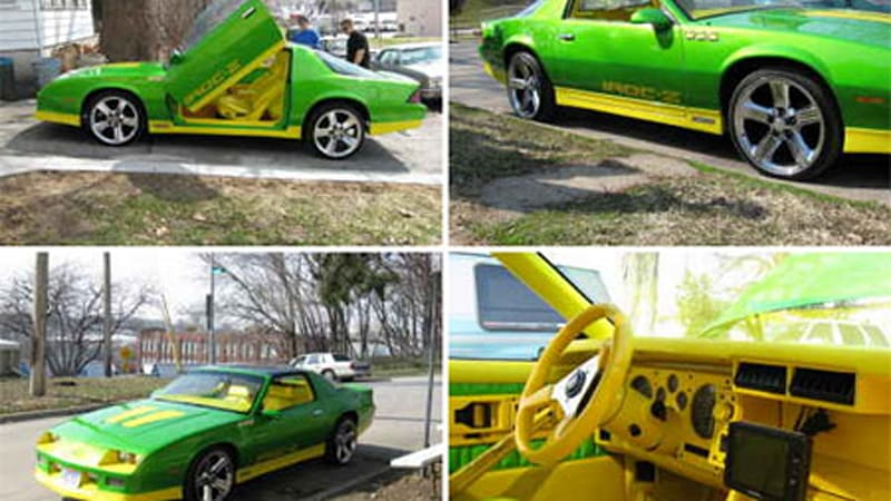 Craigslist Find Of The Day Official Car Of Sprite The Limon Camaro