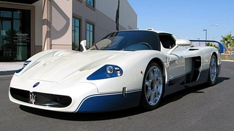 ebay find of the day 2005 maserati mc12 autoblog. Black Bedroom Furniture Sets. Home Design Ideas