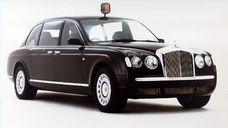 On Her Majesty's Service: 2002 Bentley State Limousine - Autoblog