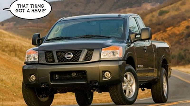nissan talks more about next gen titan and small car for chrysler autoblog autoblog