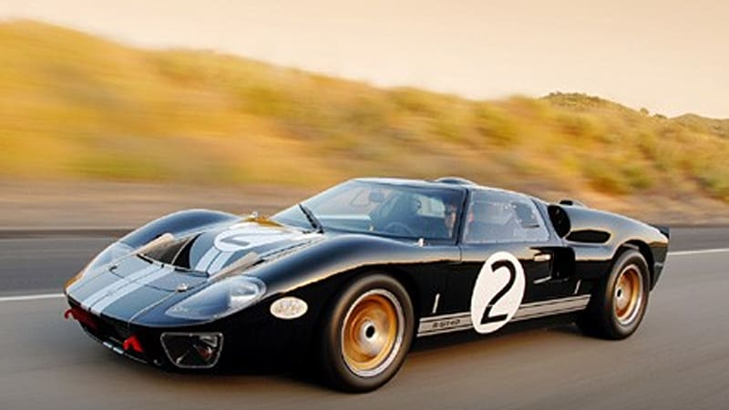 shelby celebrates 85th birthday and 1966 le mans victory with commemorative gt40 autoblog. Black Bedroom Furniture Sets. Home Design Ideas