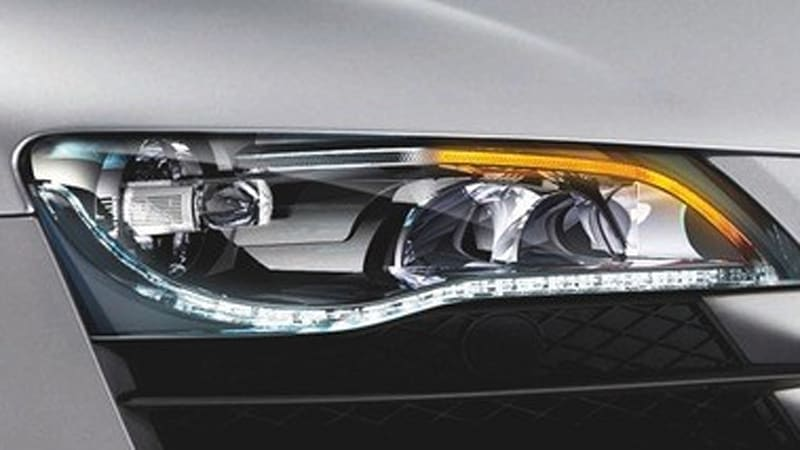 Audi R8 Gets First Full Led Headlamps Autoblog
