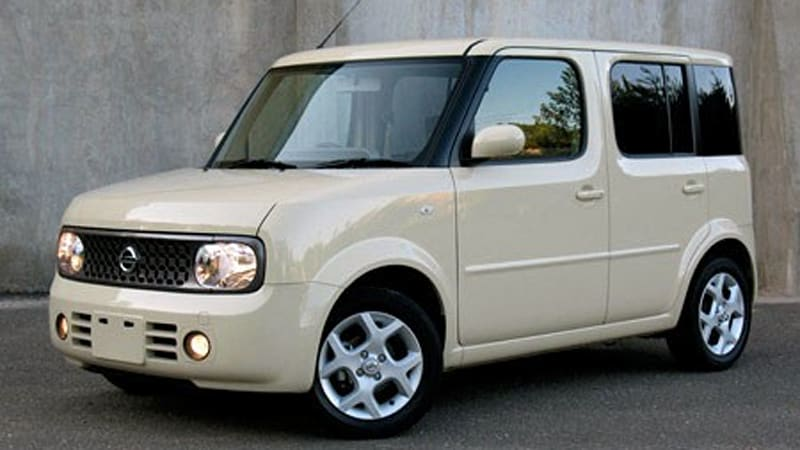 review 2008 nissan cube jdm spec autoblog. Black Bedroom Furniture Sets. Home Design Ideas