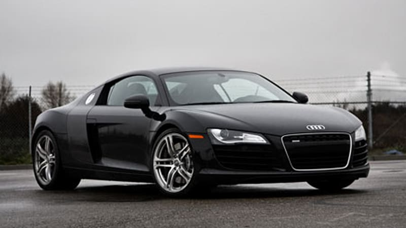 Review Audi R Autoblog - Audi r8 black