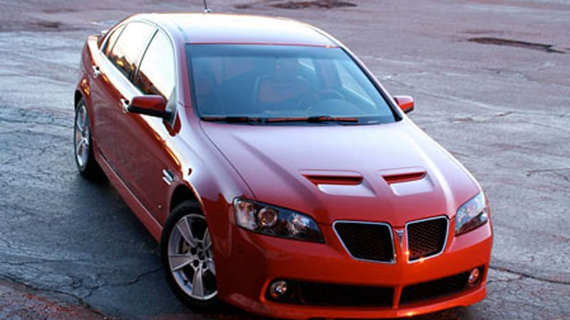 pontiac g8 gt manual mode