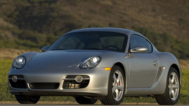 Review 2008 Porsche Cayman S Autoblog