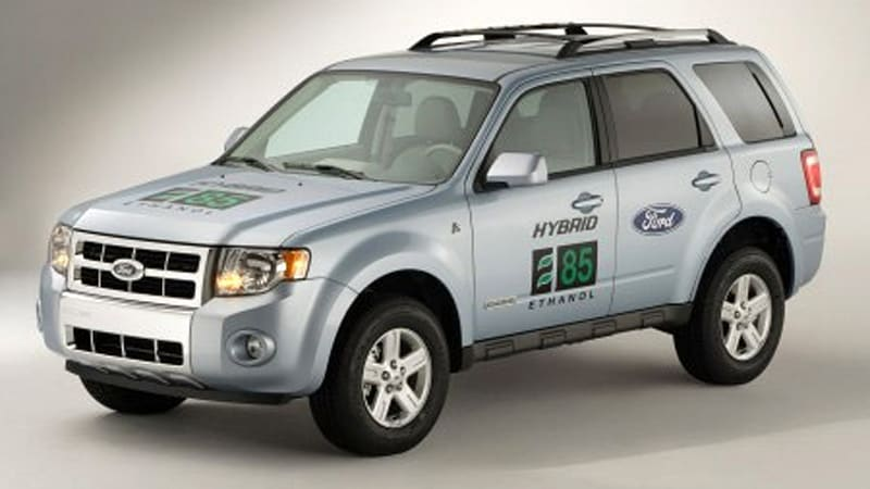 The Blue Oval Has Gifted U S Department Of Energy A One Kind Vehicle Plug In Escape Hybrid That Can Run On E85 30 Mile Range Pure