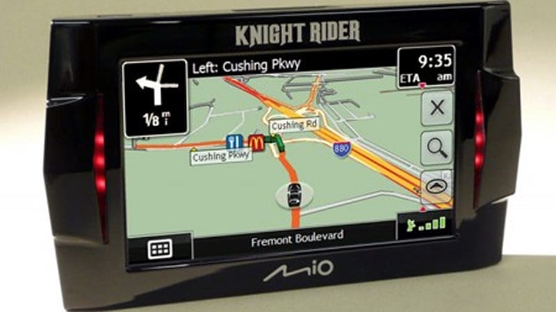 Knight Rider-themed GPS system with authentic KITT voice | Autoblog