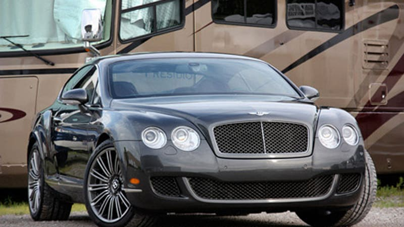 Review Bentley Continental Gt Speed Autoblog