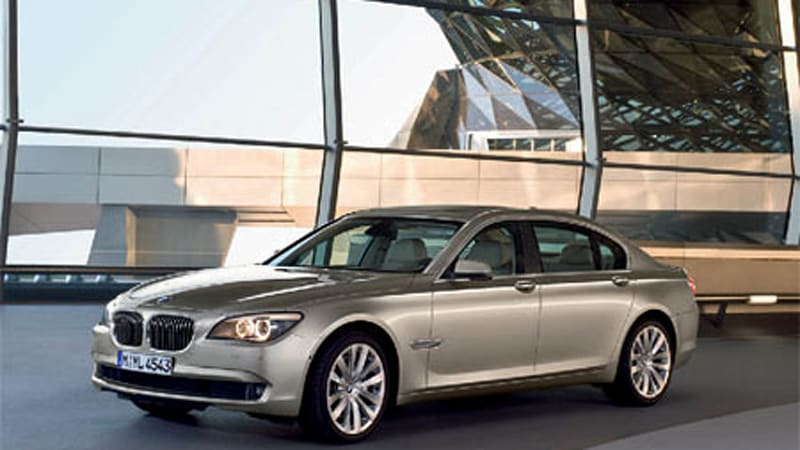 Video New Bmw 750li And 730d Out For Beauty Shots Autoblog