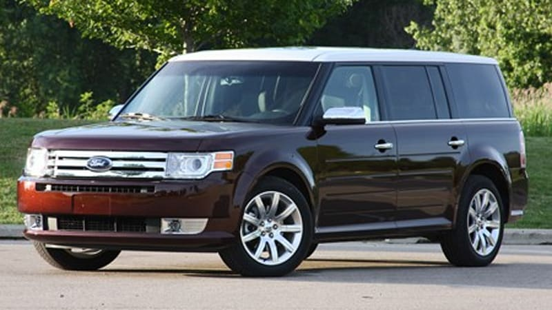 review 2009 ford flex limited w video autoblog. Black Bedroom Furniture Sets. Home Design Ideas