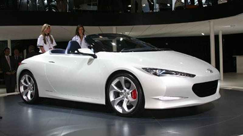 London 2008 Honda Osm Concept Roadster Says Cheerio Autoblog