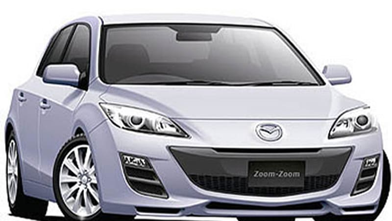 2009 Mazda3 Four Door To Be Unveiled In La Autoblog